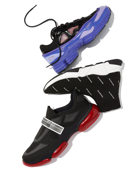 Men's Speed Signature Mid-Top Trainer Sock Sneakers