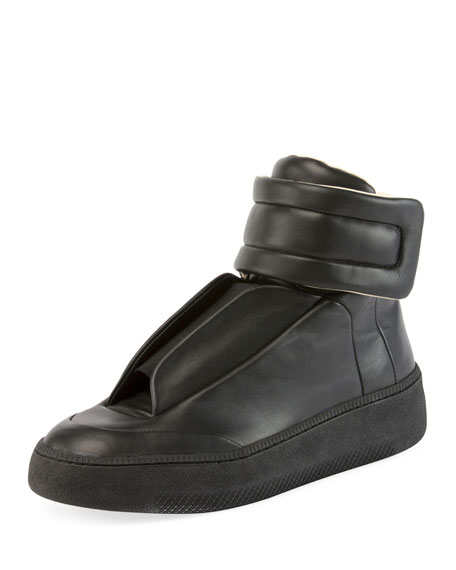 Maison Margiela Future Leather Sneakers cmCW6VFnk0