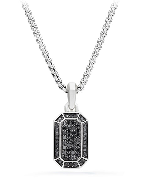 David Yurman Men's Amulet Pave Pendant Enhancer
