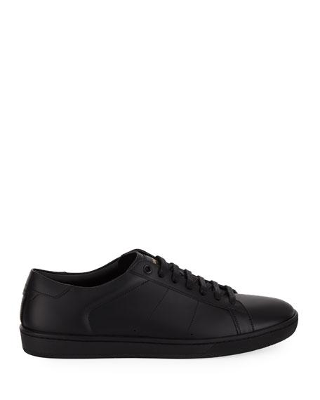 Men's SL01 Leather Low-Top Sneakers