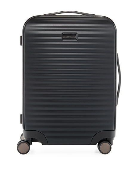 Image 1 of 3: Hard-Side Trolley Spinner Luggage
