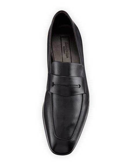Ermenegildo Zegna Lasola Soft Napa Leather Penny Loafers
