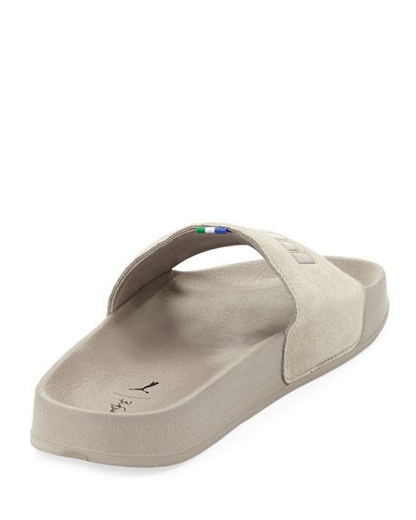 x Big Sean Suede Slide Sandal