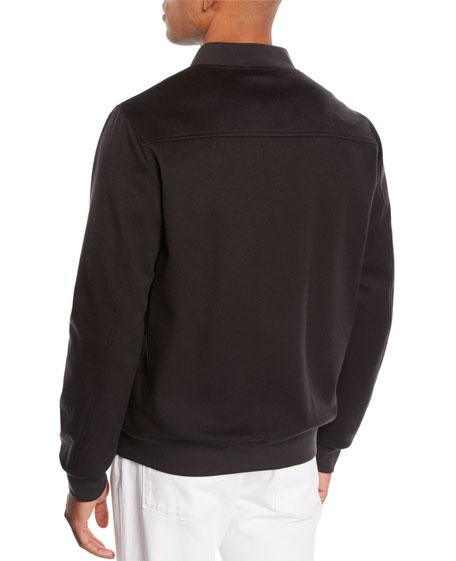Loro Piana Men's Ivy Cashmere Bomber Jacket