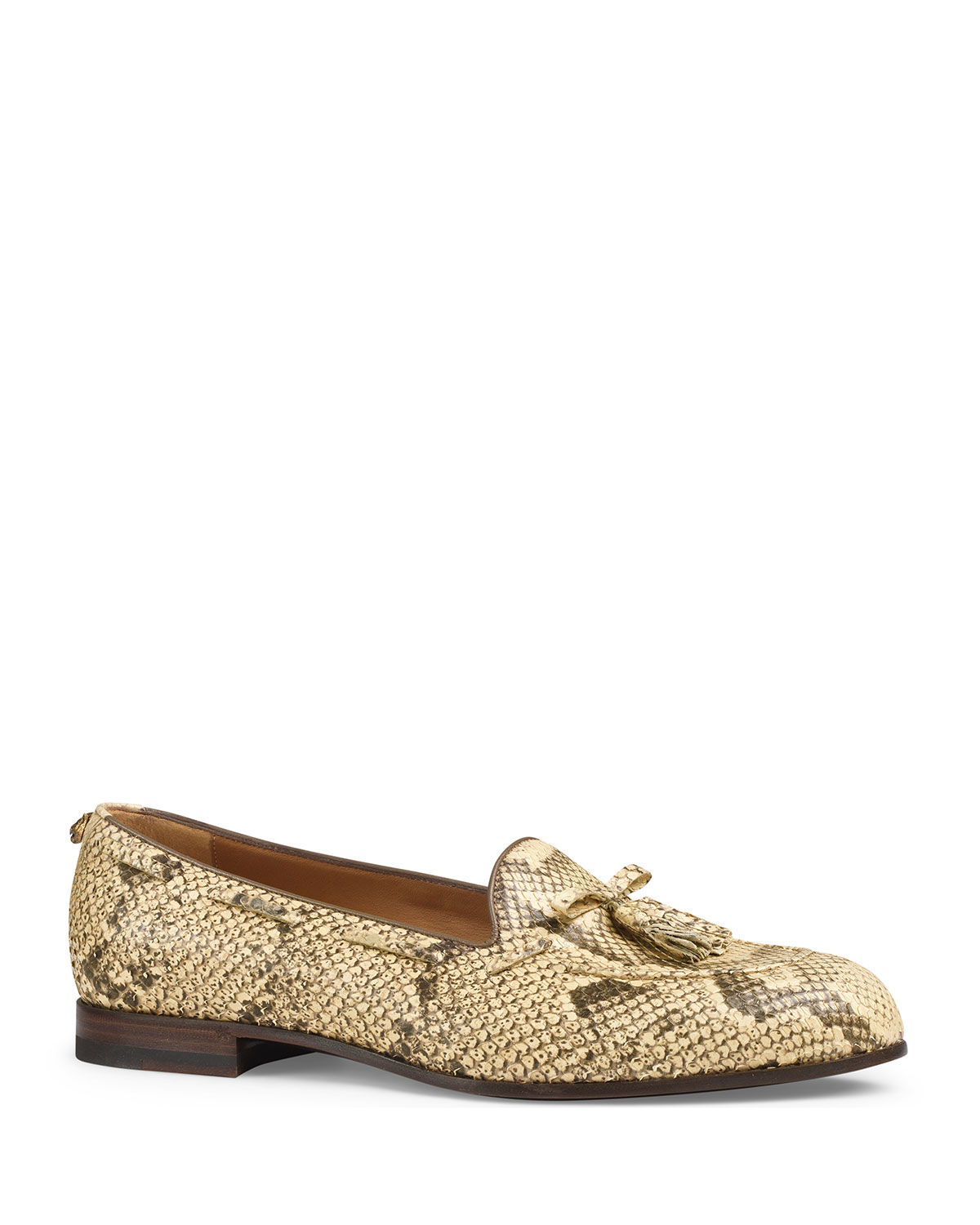 a1978668a Gucci Python Tassel Loafer | Neiman Marcus