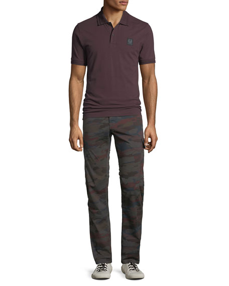 J Brand Men's Navis Camo-Print Cargo Pants