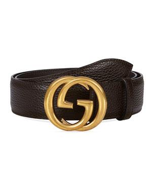 0fe90b9b1e Men's Designer Belts at Neiman Marcus