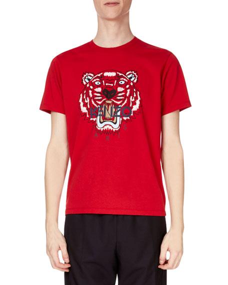 Kenzo Men's Tiger Face Graphic T-Shirt