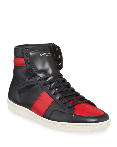 Men's SL/10H Leather High-Top Sneakers