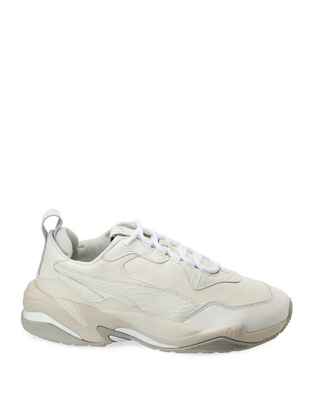 Puma Men's Thunder 2 Fashion Leather Trainer Sneakers, White