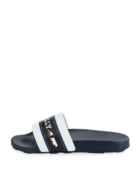 Men's Ani 6 Rubber Pool Slide Sandals