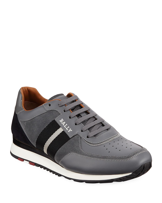 Bally Men's Aston New5 Leather Sneakers