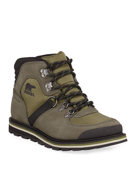 Sorel Men's Madson Waterproof Suede Hiker Boots