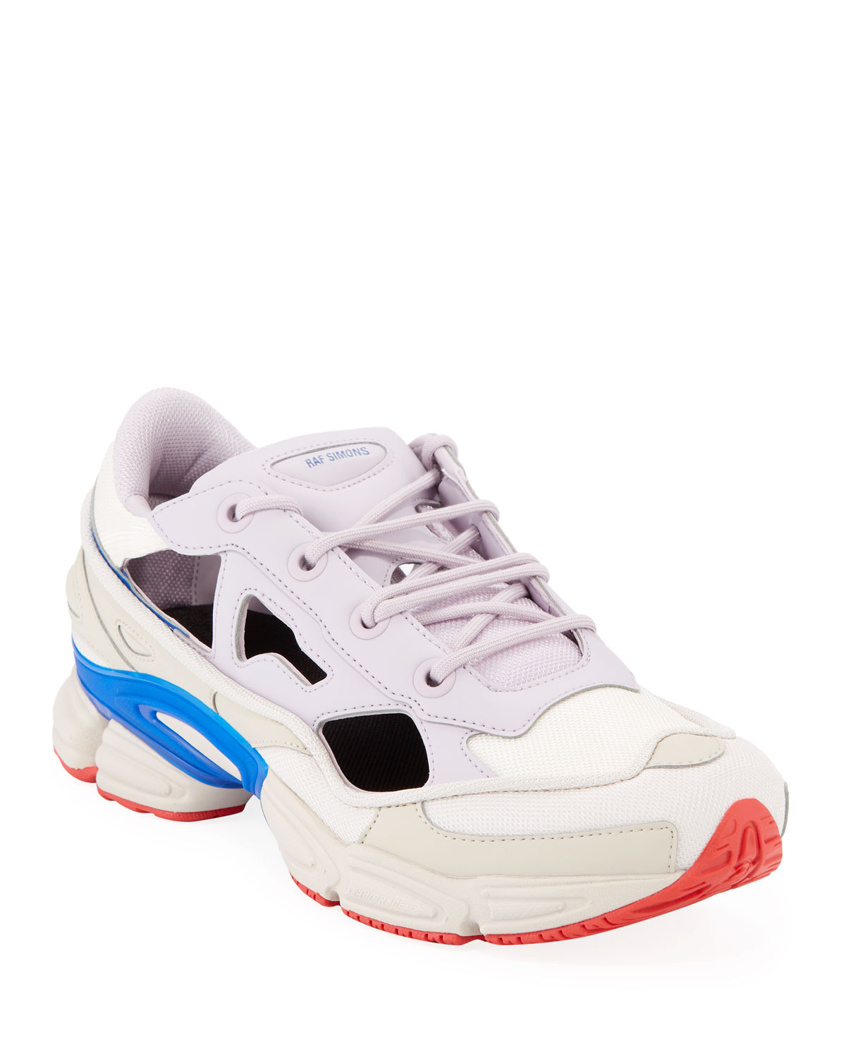 e4097db4e6a adidas by Raf Simons Men s Replicant Ozweego Trainer Sneakers ...