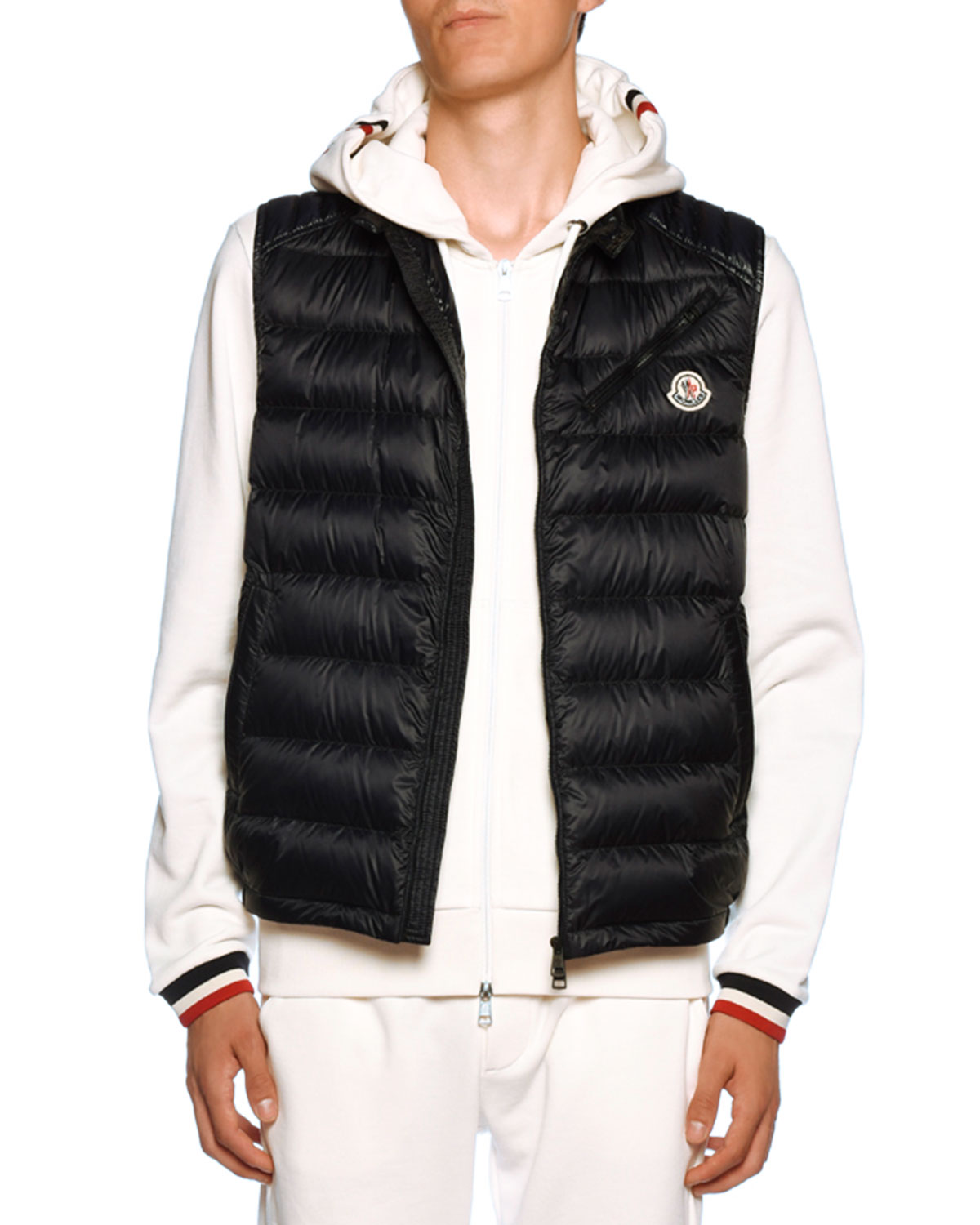 on wholesale best quality picked up Moncler Men's Arv Zip-Front Puffer Vest | Neiman Marcus