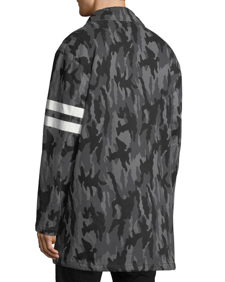 Joe's Jeans Men's Hooded Camo Parka Jacket