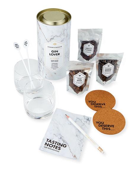 Men's Society Gin Lover's Accessory & Tasting Gift Set
