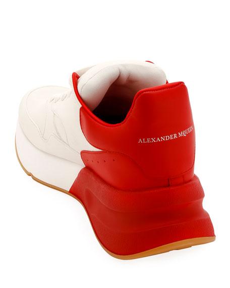Alexander McQueen Men's Oversized Leather Runner Sneaker