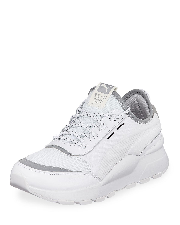 624ed190fd9d Puma Men s RS-0 Optic Pop Leather Running Sneakers