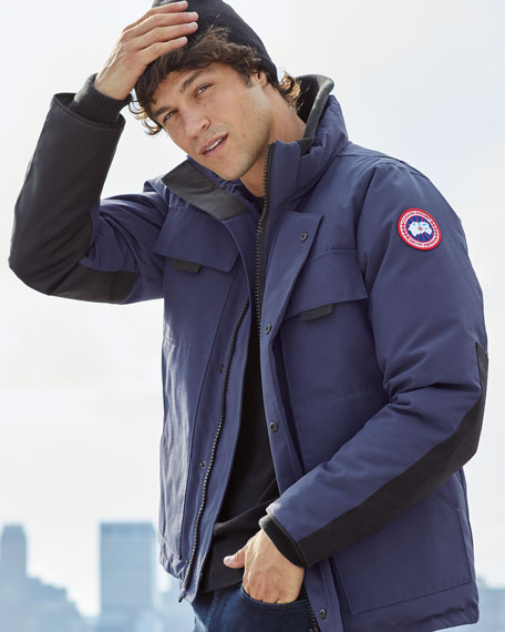 Image 2 of 5: Canada Goose Men's Forester Water-Resistant Jacket