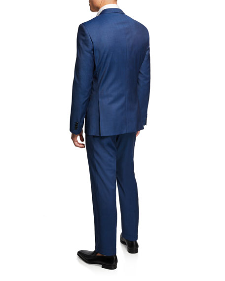 BOSS Men's Stretch-Tailoring Wool Two-Piece Suit