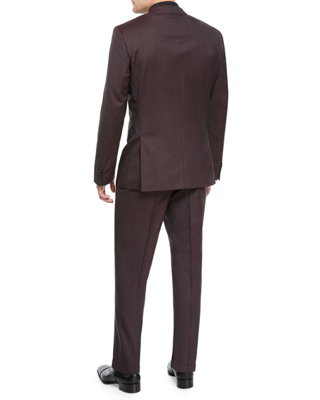 BOSS Men's Micro Stretch Two-Piece Suit