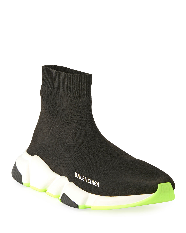 64abd320fac Balenciaga Men s Stretch-Knit Speed Sneaker