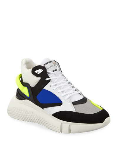 Men's Veloce Mid-Top Rubber Sneakers