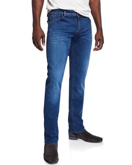 Stefano Ricci Men's Five-Pocket Stretch-Denim Jeans
