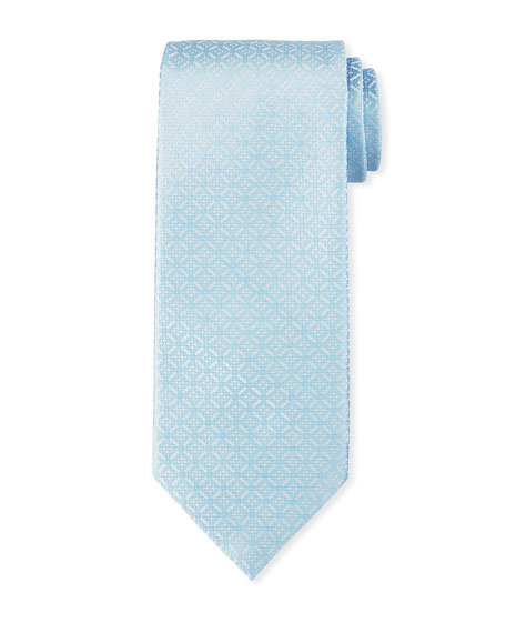 Stefano Ricci Luxe Large-Medallion Silk Tie