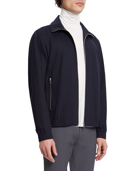 THEORY Bomber jackets MEN'S SLIM BOMBER JACKET