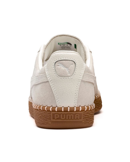 Puma Men's Classic Suede Low-Top Sneakers w/ Basket-Stitch Trim