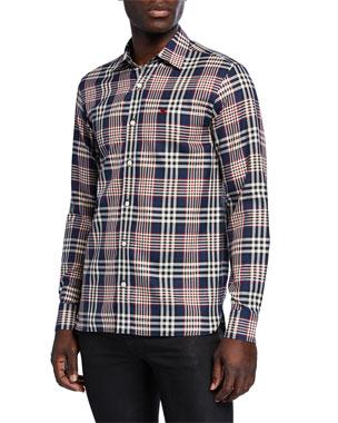 b6bda41cc Men's Casual Button-Down Shirts at Neiman Marcus