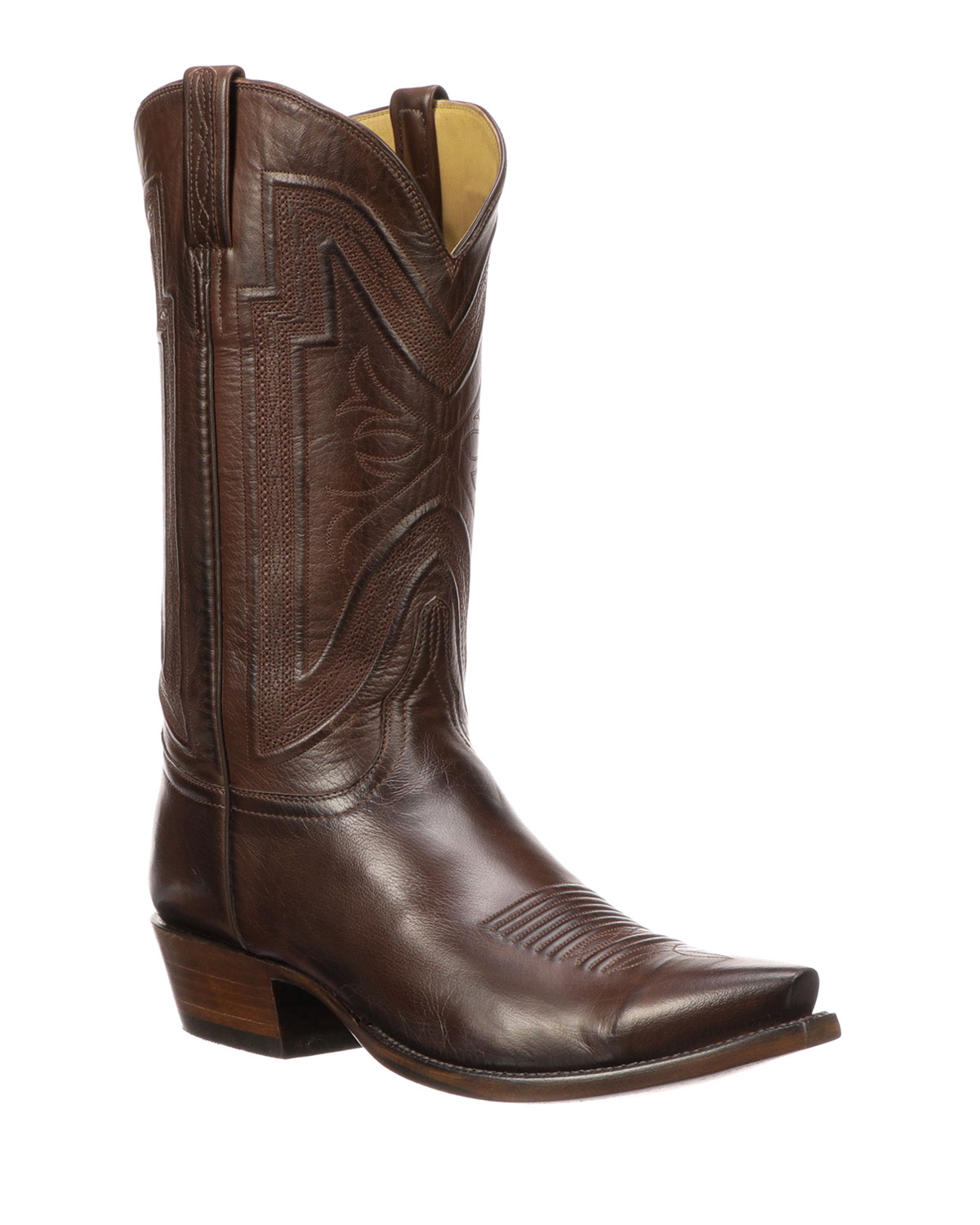 0ff9fd80e45 Men's Collins Leather Cowboy Boots