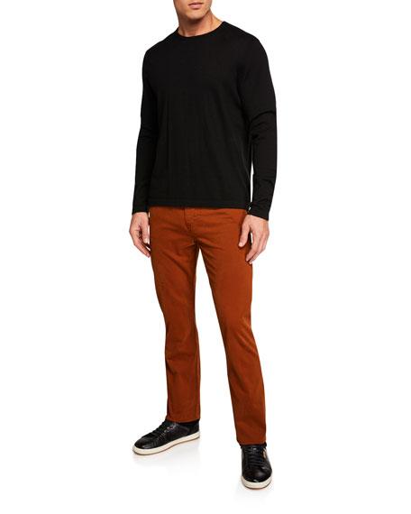 AG Adriano Goldschmied Men's Everett Slim-Straight Twill Pants