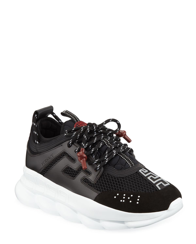 ff7cf15ab6 Versace Men s Chain Reaction Sneakers