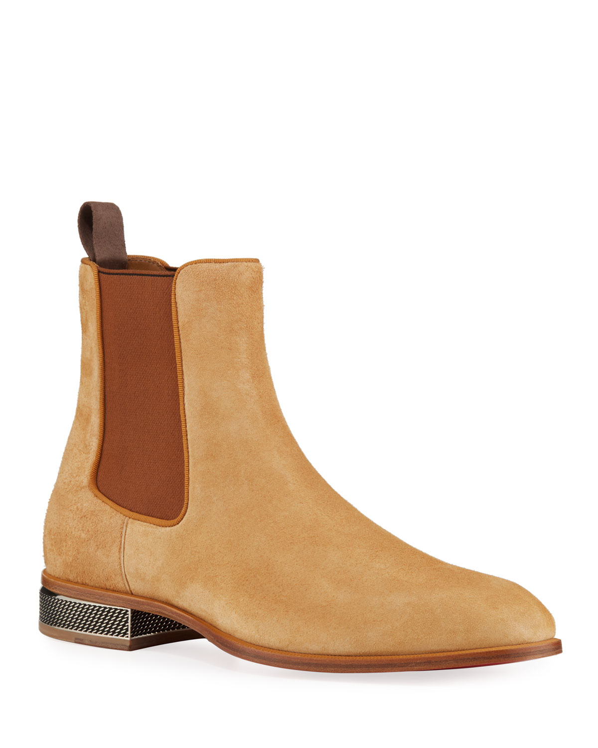 size 40 9dd78 a6c8f Men's Samsocool Red Sole Chelsea Boots