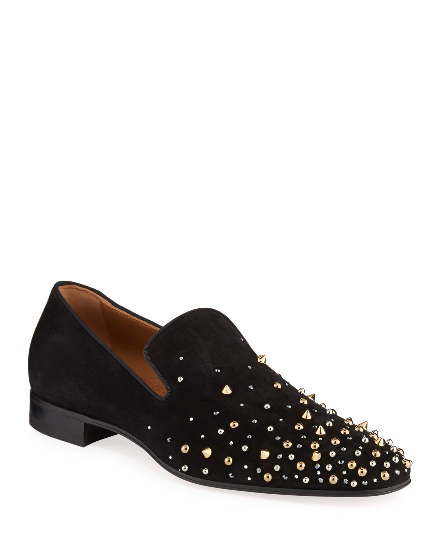 Milkylion Studded Venetian Loafers