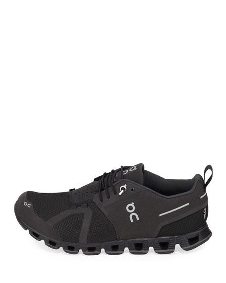 On Men's Cloud Waterproof Cushioned Knit Sneakers