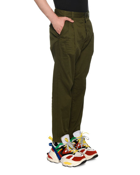 Dsquared2 Men's Pleated-Front Chino Pants