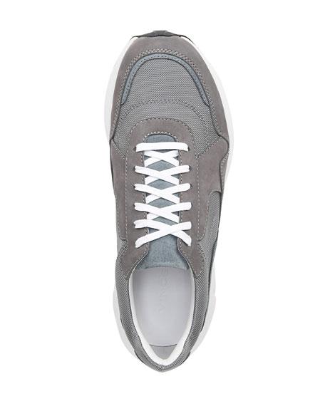 Vince Men's Eastside Suede-Trim Sneakers