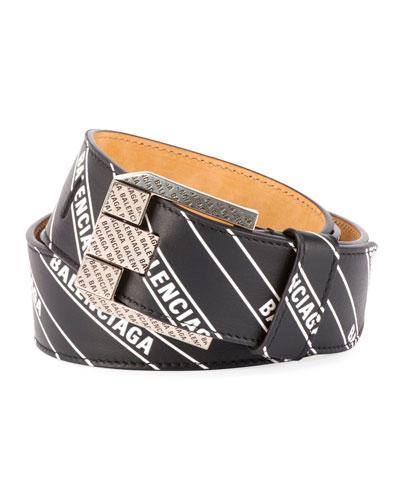 Men's Wordmark Signature Belt