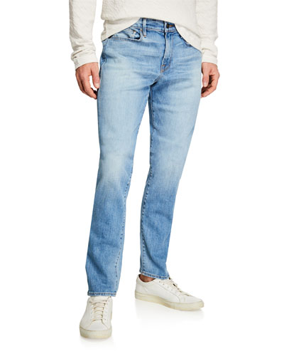 Men's L'Homme Skinny-Fit Denim Jeans