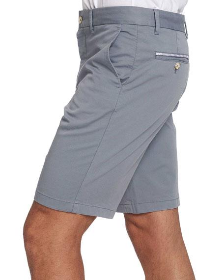 Robert Graham Men's Aldrich Stretch-Twill Flat-Front Shorts