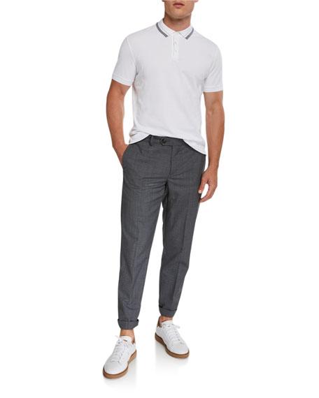Brunello Cucinelli Men's 5-Pocket Wool Pants