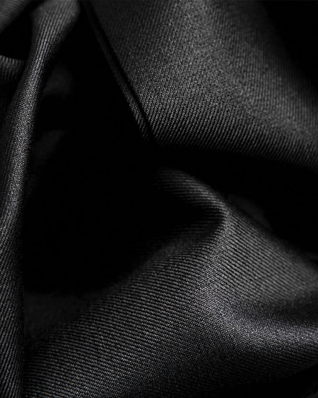 Santorelli Men's Lux Serge Twill Dress Pants