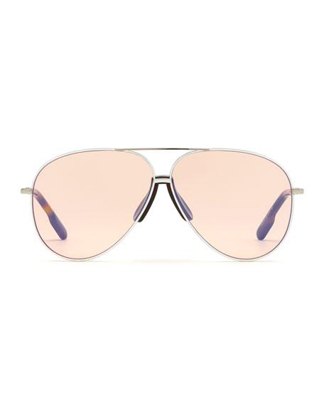 Kenzo Men's Metal Aviator Sunglasses
