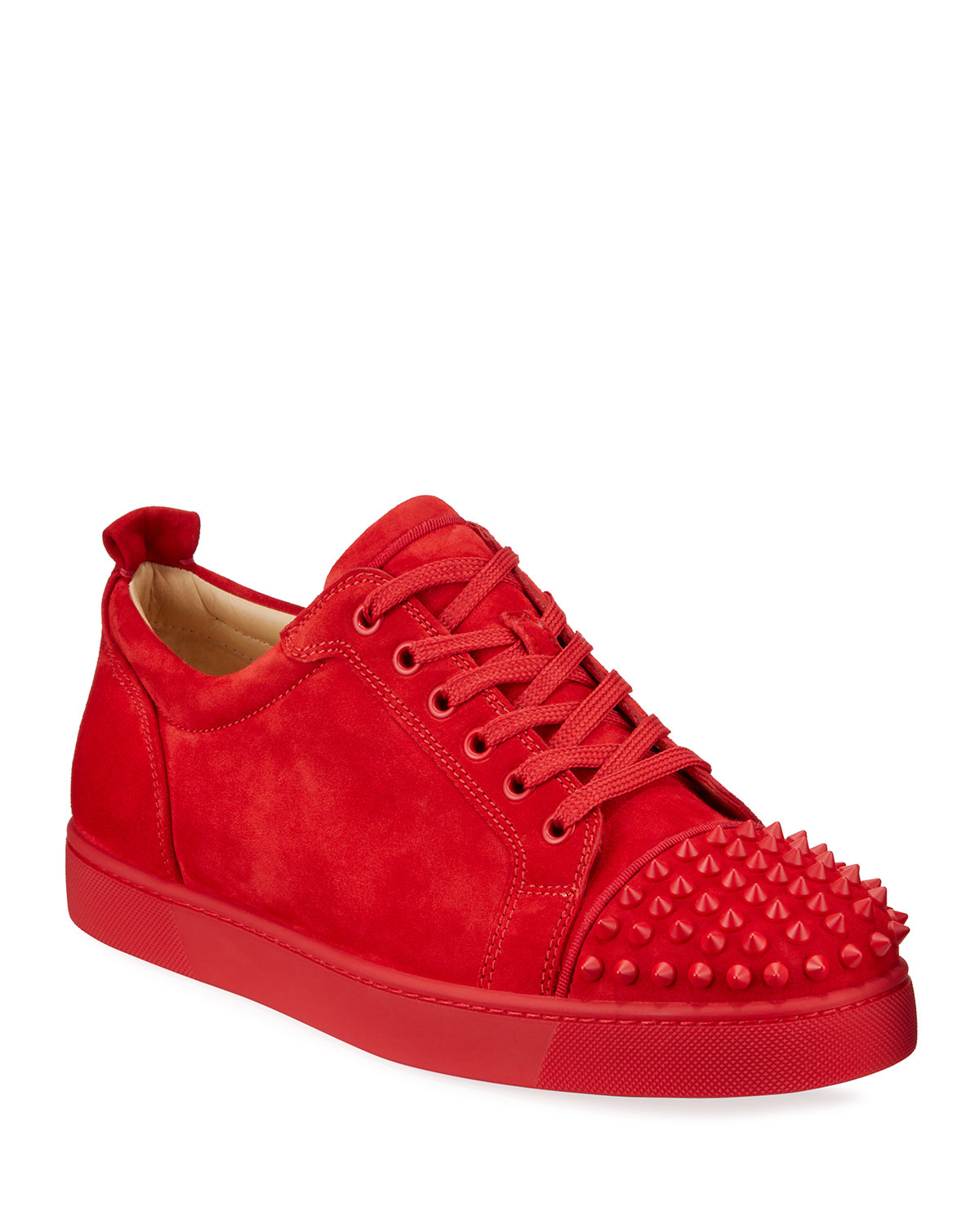 Louis Junior Spikes Red Sole Sneakers