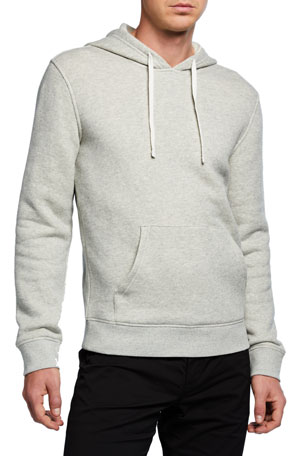 Vince Men's French Terry Hoodie Sweatshirt