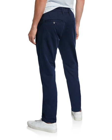 Image 2 of 3: Men's Year Round Slim Fit Chino Pants